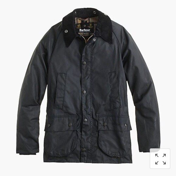 100% top quality crazy price outlet store Children's Barbour Wax Cotton Bedale Jacket